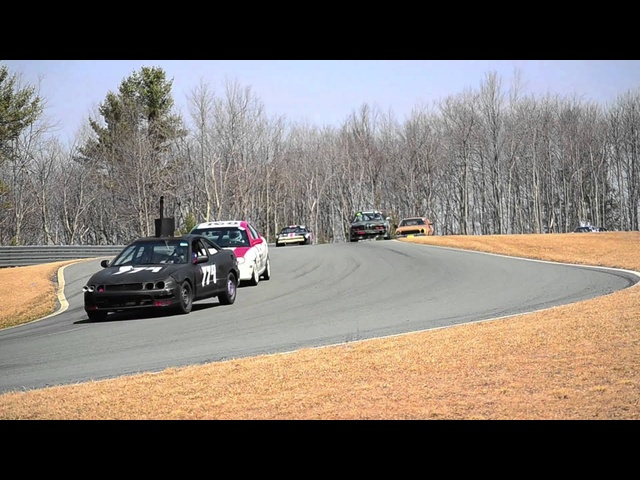 24 Hours of LeMons @ Monticello Motor Club - Raw Video