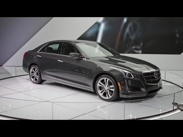 2014 <em>Cadillac</em> CTS: Up Close @ 2013 New York Auto Show
