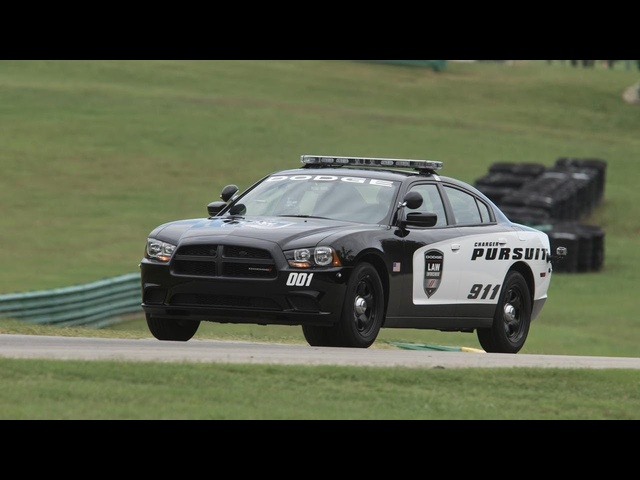 2013 <em>Dodge</em> Charger Police Pursuit Package - 2013 Lightning Lap - LLOINK Class - CAR and DRIVER