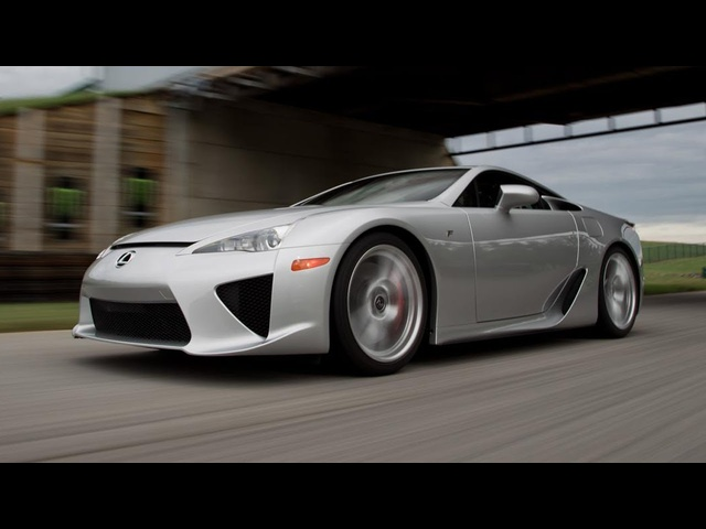 2012 Lexus LFA - 2013 Lightning Lap - LL5 Class - CAR and DRIVER