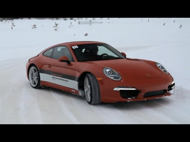 Porsche Ice-Driving Experience with Csaba Csere -CAR and DRIVER