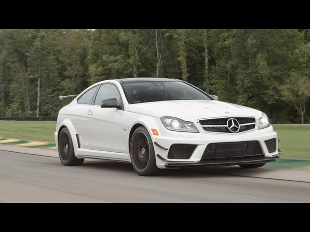2013 Mercedes-Benz C63 AMG Coupe Black Series - 2013 Lightning Lap - LL3 Class - CAR and DRIVER