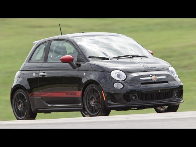 2013 Fiat 500 Abarth - 2013 Lightning Lap - LL1 Class - CAR and DRIVER