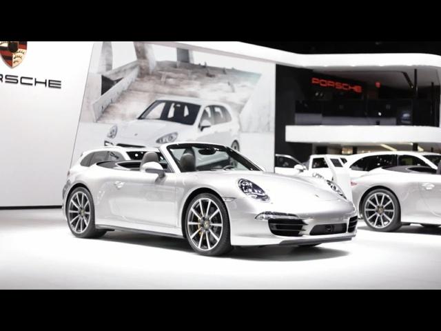 Porsche R&D Chief Talks Hybrid 911 @ 2013 Detroit Auto Show -CAR and DRIVER