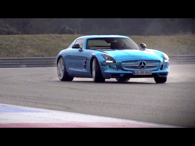Mercedes SLS Electric Drive. Can Volts Ever Match Pistons? -/CHRIS HARRIS ON CARS