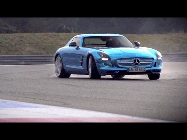 <em>Mercedes</em> SLS Electric Drive. Can Volts Ever Match Pistons? -/CHRIS HARRIS ON CARS
