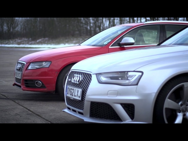 <em>Audi</em> S4 v <em>Audi</em> RS4. Does Supercharging Rule? - /CHRIS HARRIS ON CARS