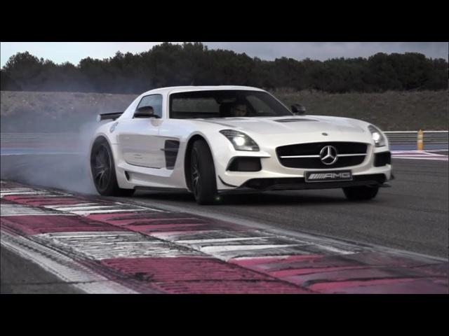 Mercedes SLS AMG Black Series: German Tyre Killer -/CHRIS HARRIS ON CARS