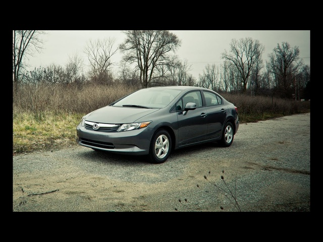 2012 Honda Civic Natural Gas - Name That Exhaust Note, Episode 119 - CAR and DRIVER
