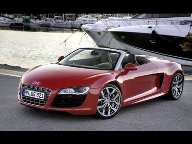 2011 <em>Audi</em> R8 4.2 Spyder - Name That Exhaust Note, Episode 98 - CAR and DRIVER