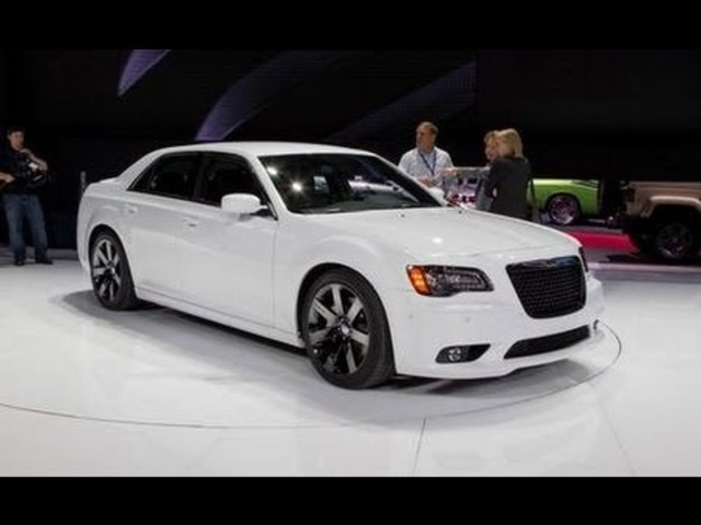 2012 Chrysler 300C SRT8 @ 2011 New York Auto Show - CAR and DRIVER