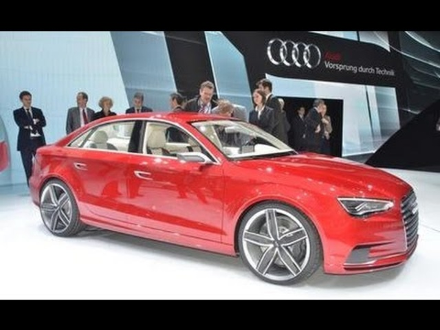 <em>Audi</em> A3 Concept @ 2011 Geneva Auto Show - CAR and DRIVER