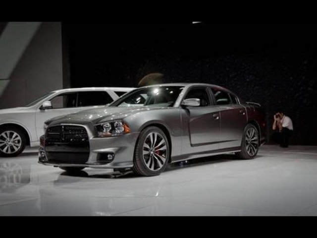 2012 <em>Dodge</em> Charger SRT8 @ 2011 Chicago Auto Show - CAR and DRIVER