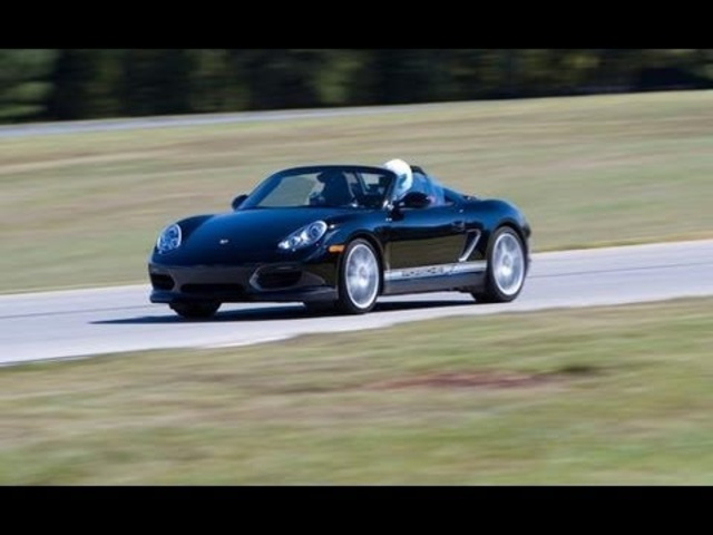 2011 Porsche Boxster Spyder Hot Lap at VIR - Lightning Lap 5 - CAR and DRIVER