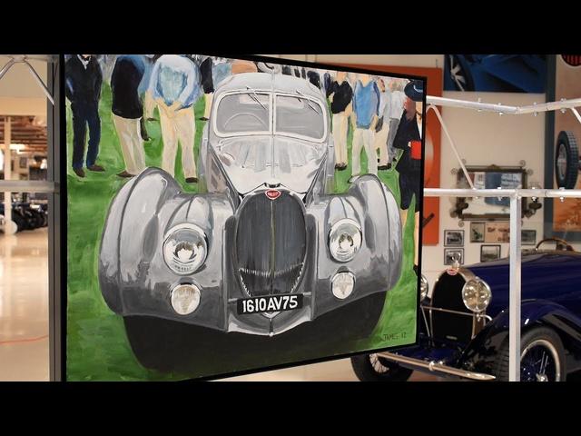 Automotive Artist James Caldwell -Jay Leno's Garage
