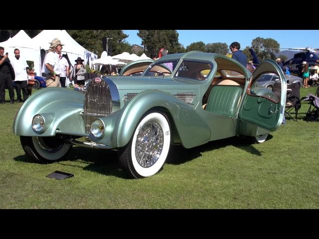 1935 <em>Bugatti</em> Aerolithe Coupe -Jay Leno's Garage