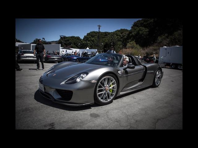 2014 Porsche 918 Spyder -Jay Leno's Garage