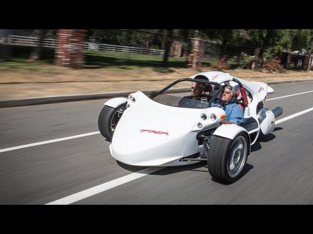 2013 Campagna Motors T-REX -Jay Leno's Garage