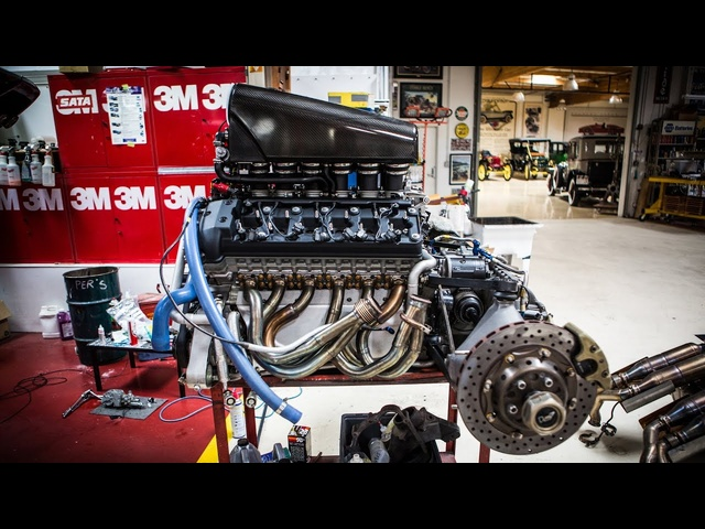Engine Extraction: McLaren F1 - Jay Leno's Garage
