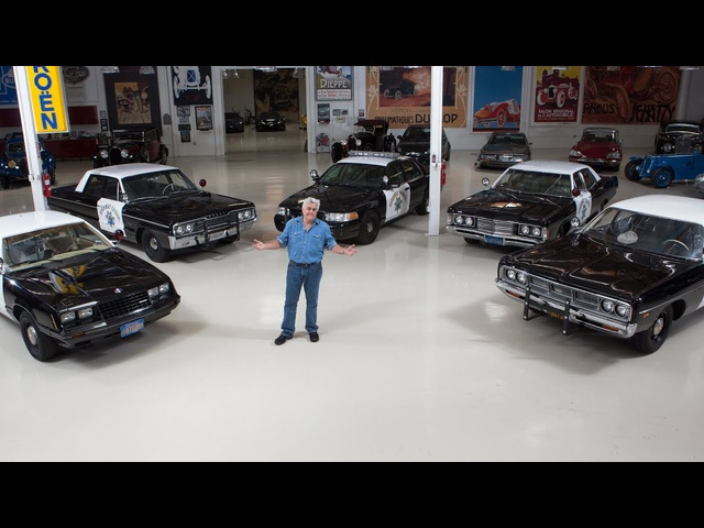Classic California Highway Patrol Cars -Jay Leno's Garage