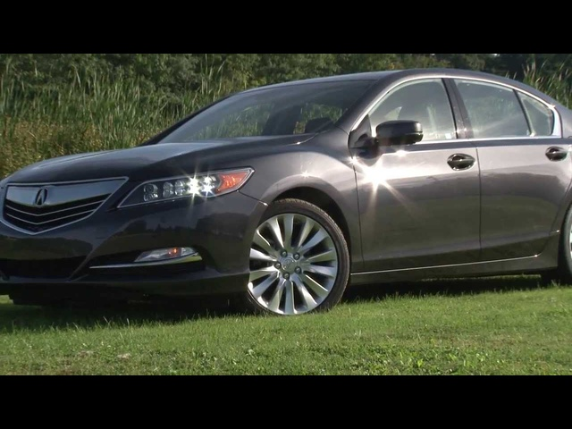 2014 Acura RLX - Drive Time Review with Steve Hammes
