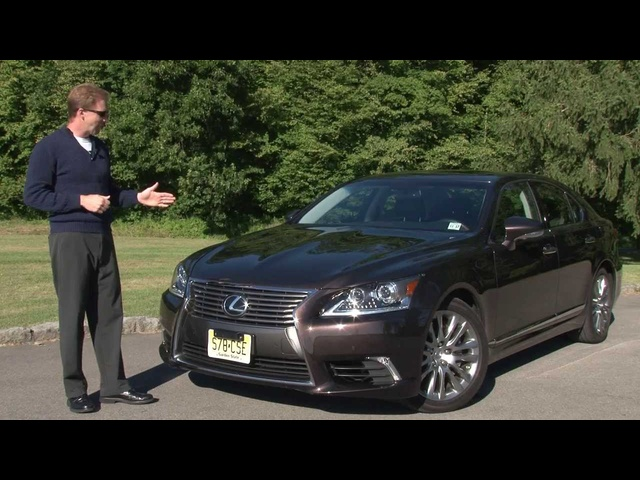 2013 <em>Lexus</em> LS 460 AWD -Drive Time Review with Steve Hammes | TestDriveNow