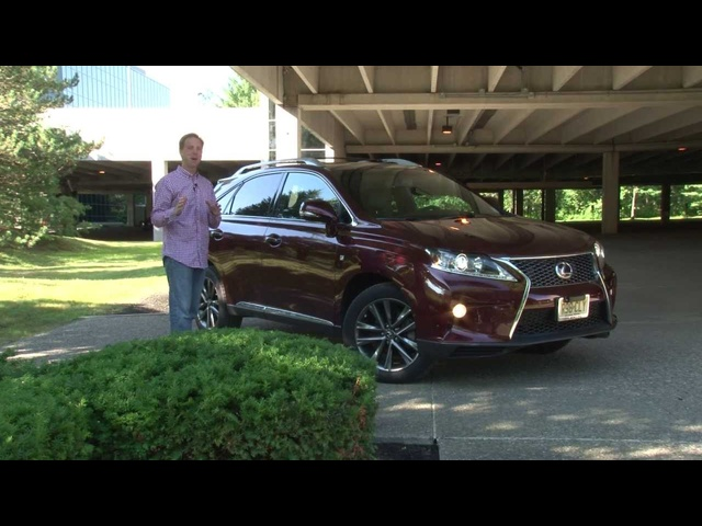 2013 Lexus RX 350 F SPORT - Drive Time Review with Steve Hammes | TestDriveNow