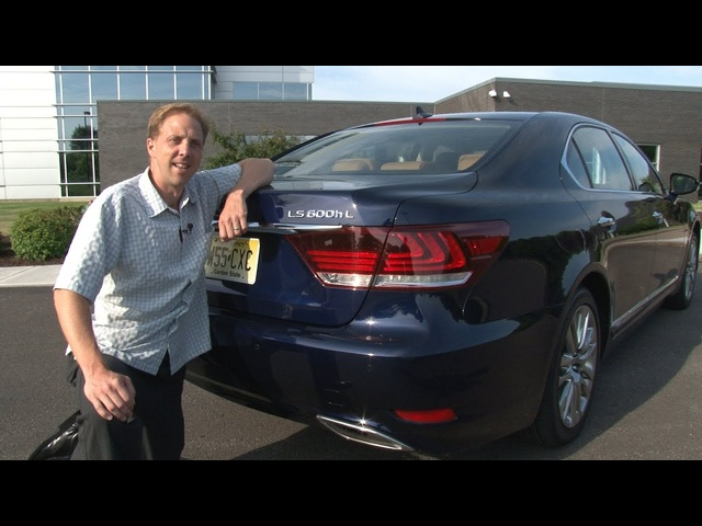 2013 Lexus LS 600h L - Drive Time Review with Steve Hammes | TestDriveNow