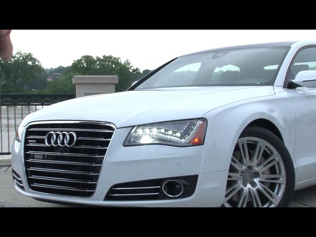 2014 <em>Audi</em> A8 L TDI - Drive Time Review with Steve Hammes | TestDriveNow