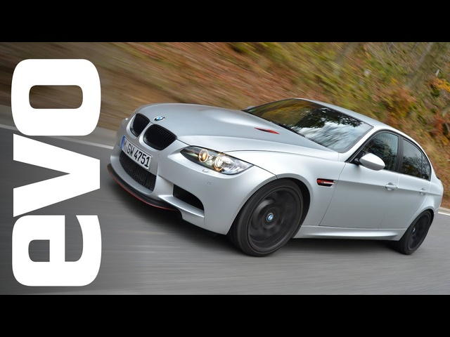 <em>BMW</em> M3 CRT at the Nurburgring | INSIDE evo