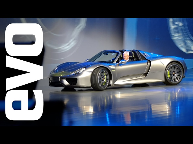 Porsche 918 Spyder & 911 50 Years: Frankfurt 2013 | evo MOTOR SHOWS