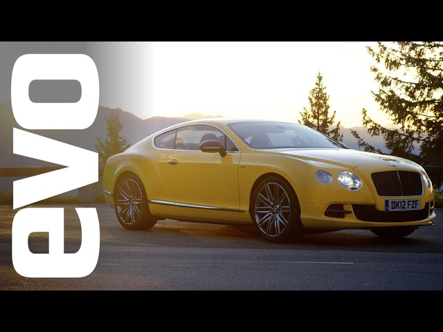 200mph in a <em>Bentley</em> Continental GT Speed | INSIDE evo