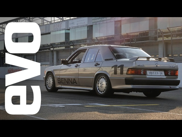 Senna's Mercedes 190E race car | INSIDE evo