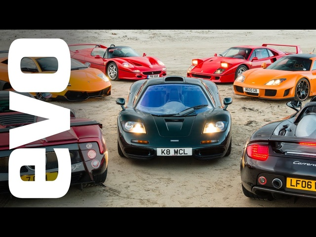 McLaren F1 vs supercar rivals: promo | evo TV