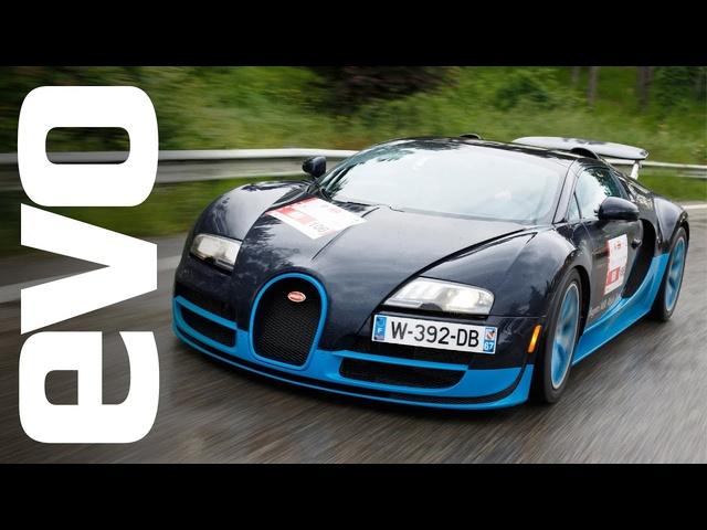 Bugatti Veyron Vitesse driving 1000 miles on Mille Miglia | evo DIARIES