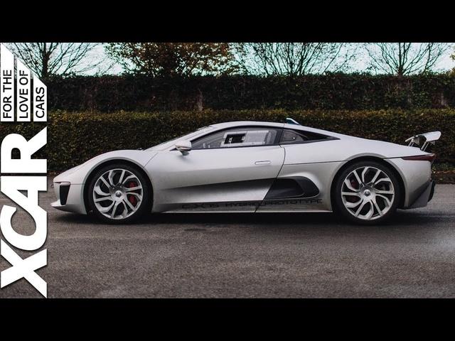 <em>Jaguar</em> C-X75: We Drive <em>Jaguar</em>'s Prototype Hybrid Hypercar -XCAR