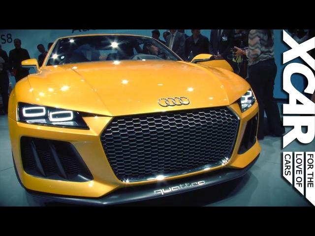 Frankfurt Motor Show 2013: Audi Sport Quattro Concept -XCAR