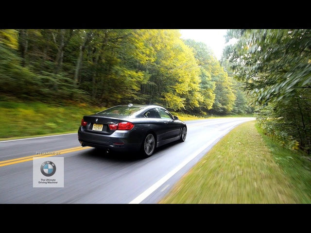 Presented By: BMW -- The First-Ever BMW 435i Meets Skyline Drive
