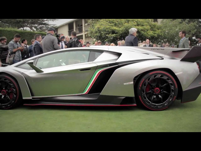 Lamborghini Veneno - Up Close @ Pebble Beach - CAR and DRIVER