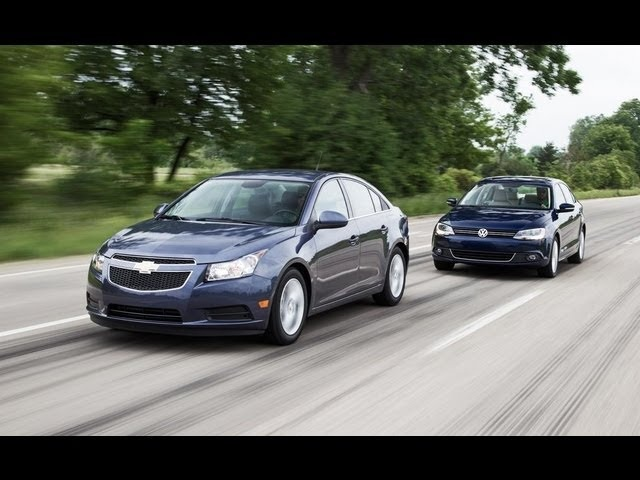How Far Can You Drive On One Tank of Diesel? -Chevy Cruze 2.0TD vs. VW Jetta TDI