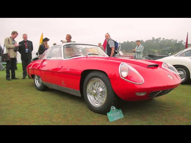 1960 Alfa Romeo Superflow IV Pinin Farina -Up Close @ Pebble Beach -CAR and DRIVER