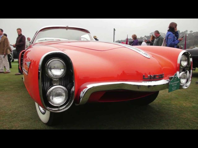 1955 Lincoln Indianapolis Boano Coupe - Up Close @ Pebble Beach - CAR and DRIVER