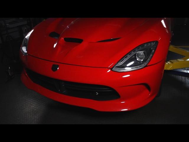 2013 SRT Viper GTS -C/D Underbelly