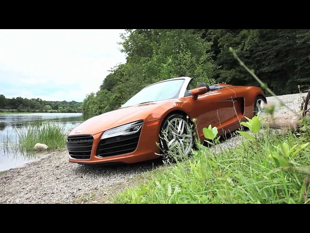 <em>Audi</em> R8 Spyder - Up Close & Personal - CAR and DRIVER