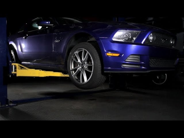 2013 Ford Mustang GT Rear Suspension - C/D Underbelly