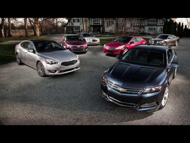 2014 <em>Chevrolet</em> Impala vs. Chrysler 300S, Dodge Charger, Hyundai Azera, Kia Cadenza, Toyota Avalon