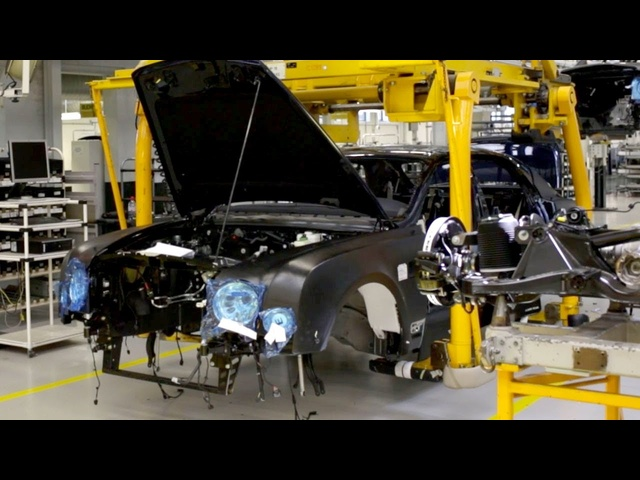 Engine and Chassis Marriage - /INSIDE <em>BENTLEY</em>