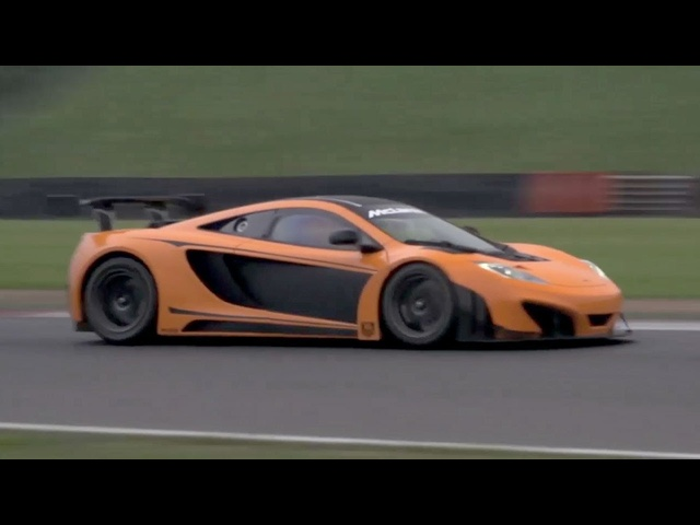<em>McLaren</em> 12C GT3 Race Car. Carbon Dreams. -- /CHRIS HARRIS ON CARS