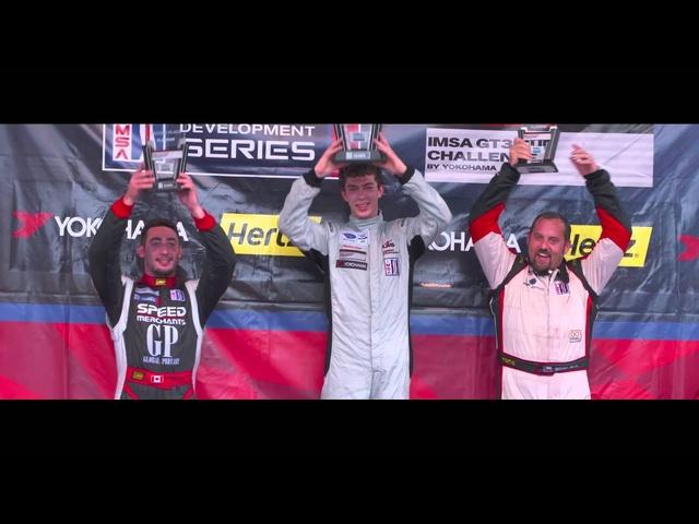 Madison Snow -Platinum Cup Champion of the Porsche IMSA GT3 Cup Challenge presented by Yokohama