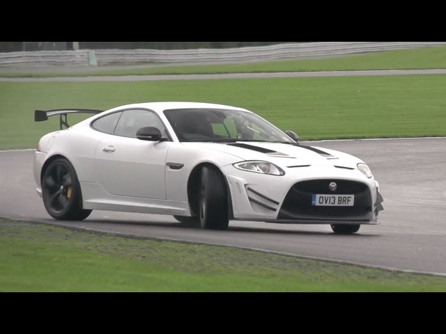 Jaguar XKR-S GT Driven on Track -- /CHRIS HARRIS ON CARS